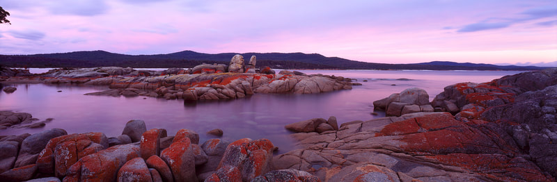 Binalong Bay, Bay of Fires, Tasmania